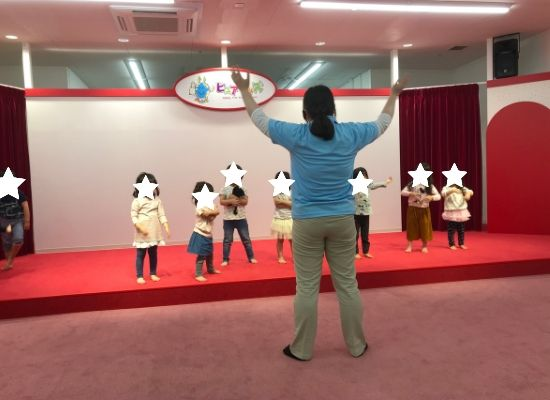 ピュアキッズ入間イベントダンス