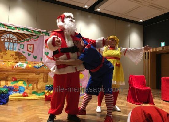 WFCクリスマスイベントショーサンタ
