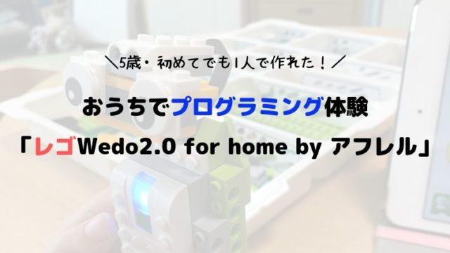 5歳初めてのプログラミング体験 「レゴWedo2.0 for home by アフレル (1)