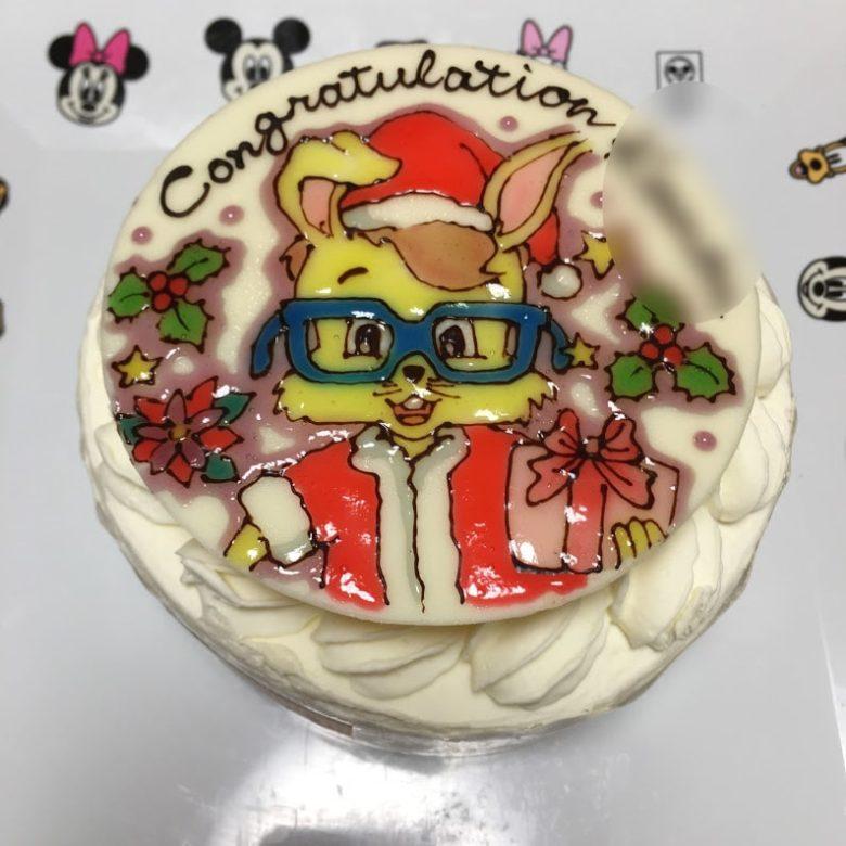 DWEライムCAPキャラクターケーキ