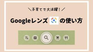 Googleレンズの使い方