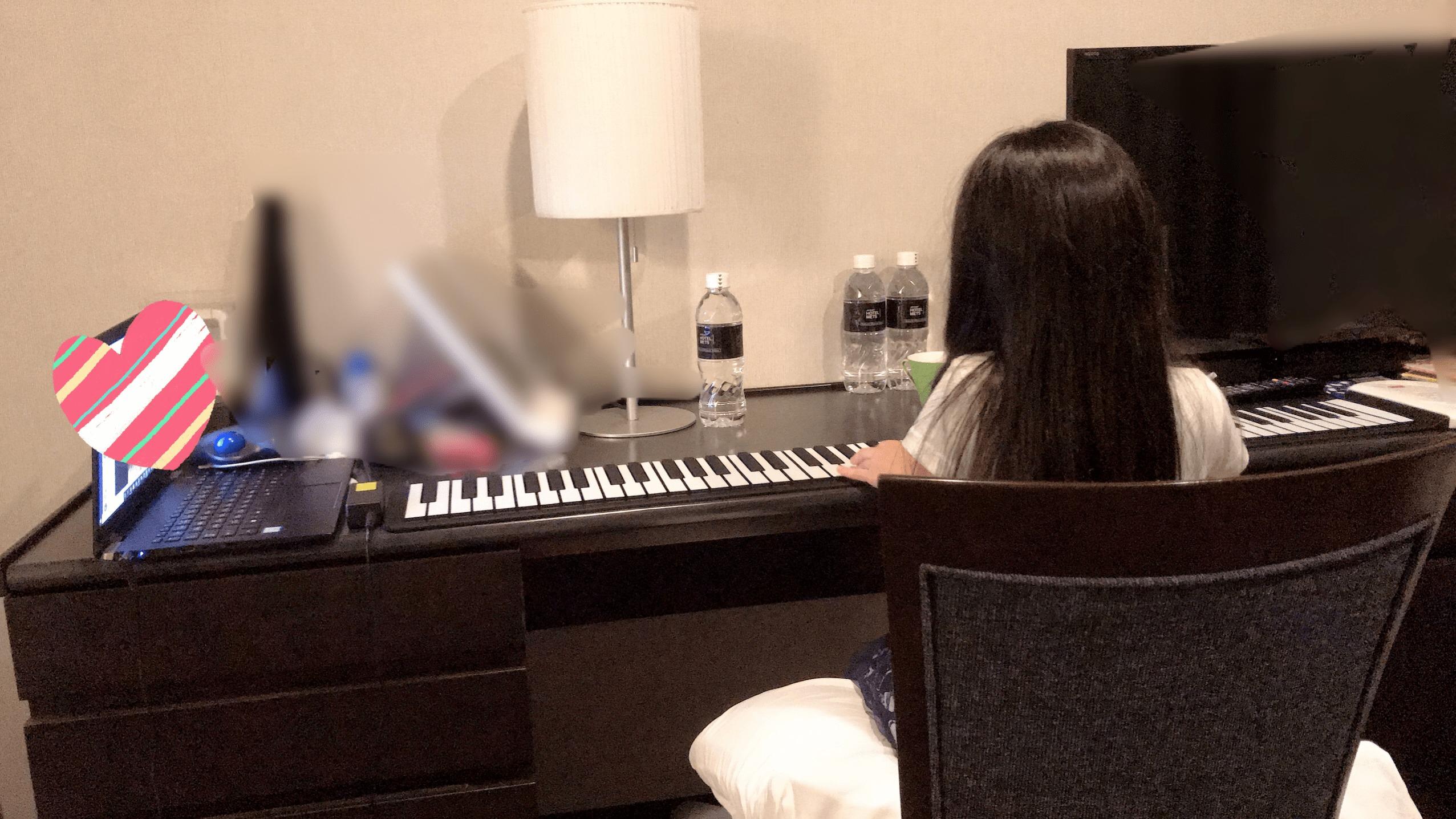 ロールピアノでオンラインピアノレッスン